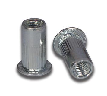 Steel Rivet Nut - M4 - Short